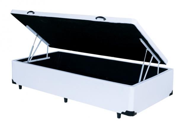 Cama Box Baú Solteirão King 0,96 x 2,03 X 0,40 Premium (Várias Cores)