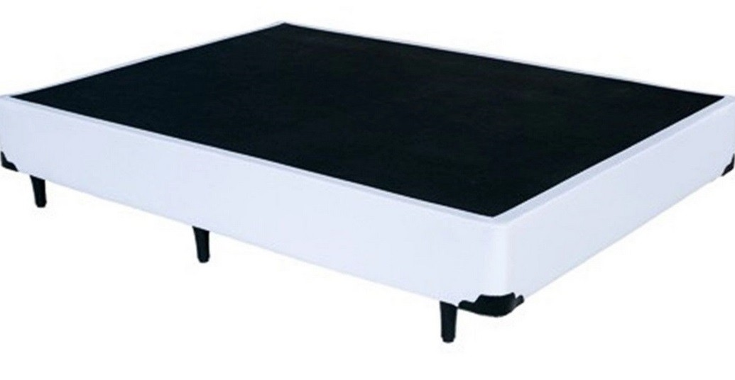 Cama Box Casal 138x188 + Colchão Ortopédico Isopluma