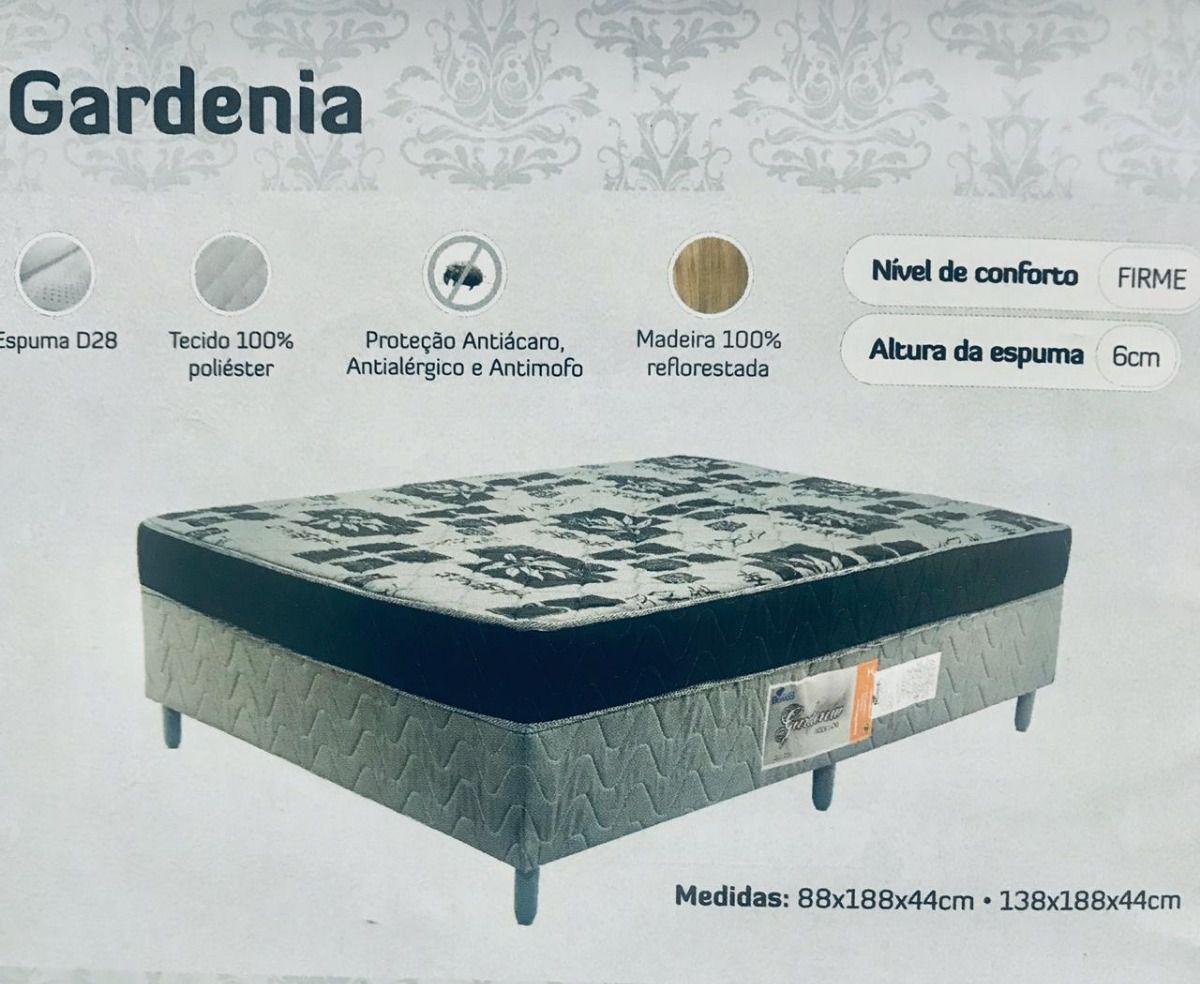 Cama Box Conjugado Solteiro 088x188 Molas Gardenia