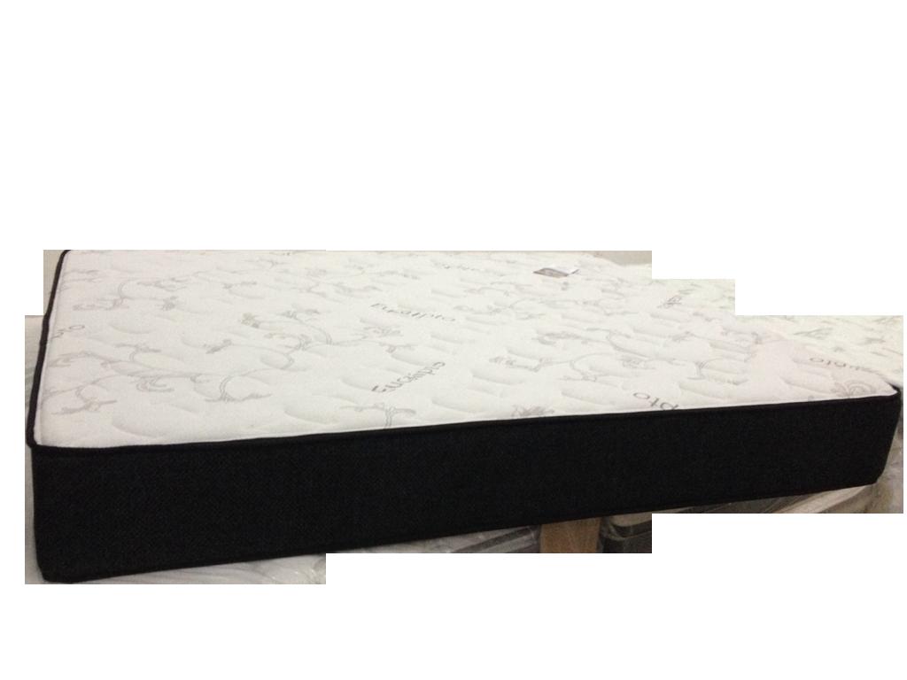 Colchão de Molas Solteirão 110x188x25 Luxor Black