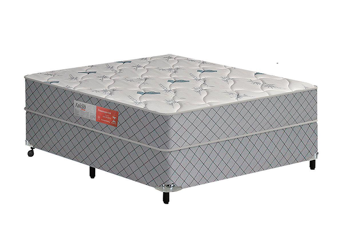 Colchão Casal 1,38x1,88x0,18  Espuma Falcon Conforto Firme 100 kg