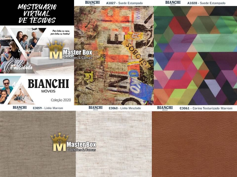 Estofado Retrátil Reclinável Lugano – Bianchi Móveis