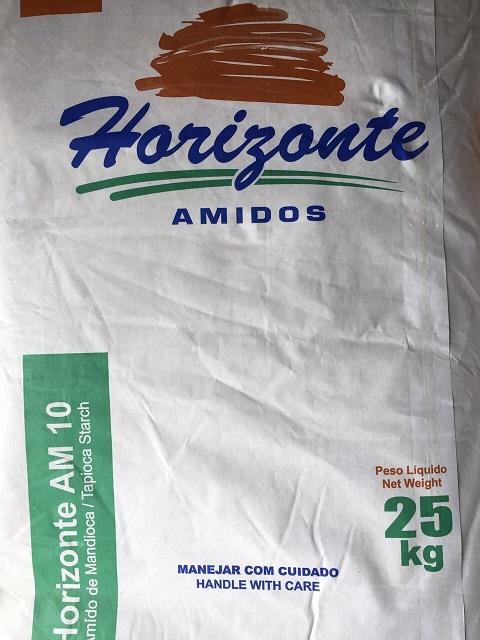FÉCULA DE MANDIOCA - 25 KG - AGRÍCOLA HORIZONTE