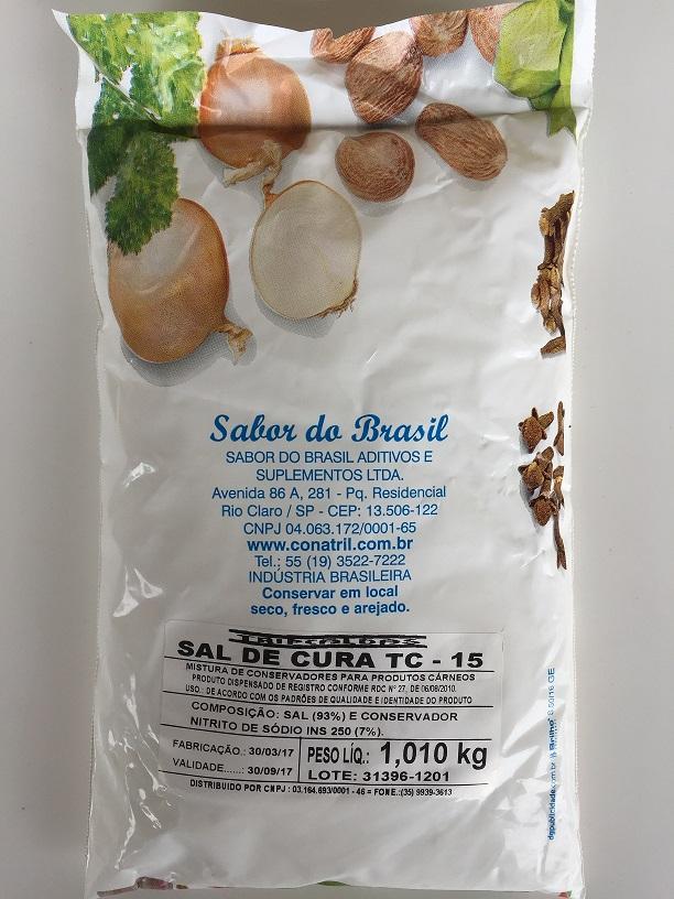 SAL DE CURA FRESCAL - NITRITO DE SÓDIO - CONATRIL