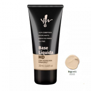 Base HD Bege 01 Líquida Yes! Make.Up - Yes Cosmétics