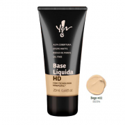 Base HD Bege 02 Líquida Yes! Make.Up - Yes Cosmétics