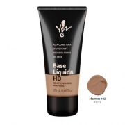 Base HD Marrom 02 Líquida Yes! Make.Up - Yes Cosmétics