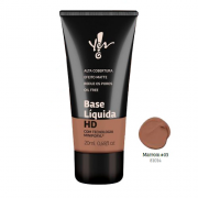 Base HD Marrom 03 Líquida Yes! Make.Up - Yes Cosmétics