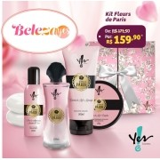 Kit Presente Fleurs de Paris - Yes Cosmétics