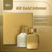 Kit Presente Gold Intense - Yes Cosmétics