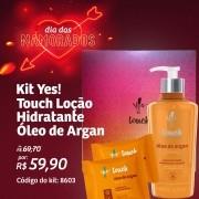 Kit Presente Touch Óleo de Argan - Yes Cosmétics