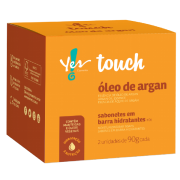 Sabonete em Barra Óleo de Argan c/2 Yes! Touch - Yes Cosmétics
