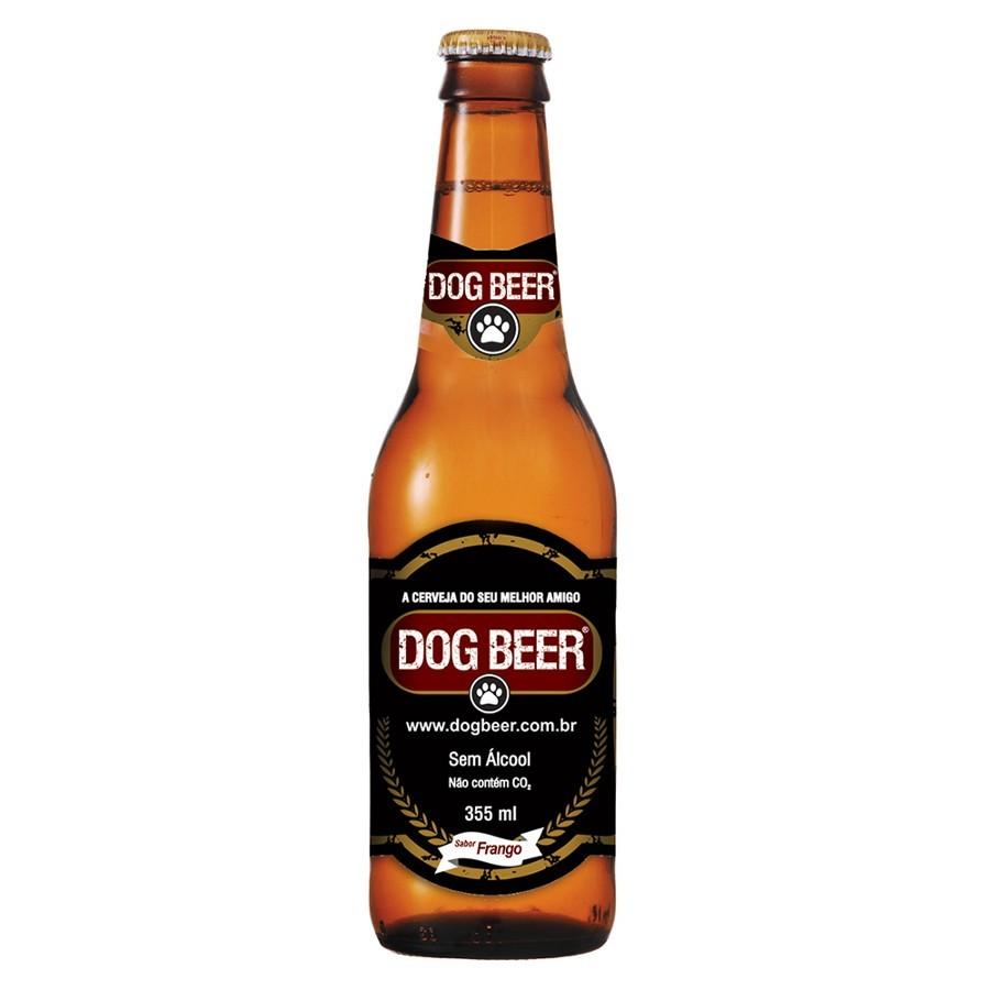 Cerveja para Cães Dog Beer - 355ml