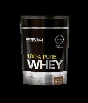 100% Pure Whey Probiótica 825g Refil