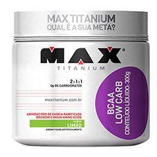 BCAA Low Carb 300g - Max Titanium