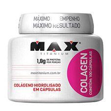 Colágeno 100 Cápsulas - Max Titanium