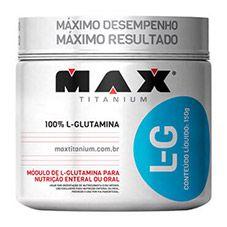 Glutamina Max Titanium 150g