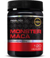 Maca Peruana Monster 120 Cápsulas - Probiótica
