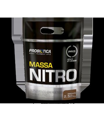Massa Nitro 2,5Kg - Probiótica