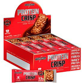 Protein Crisp Bar 12 unidades - Integralmedica