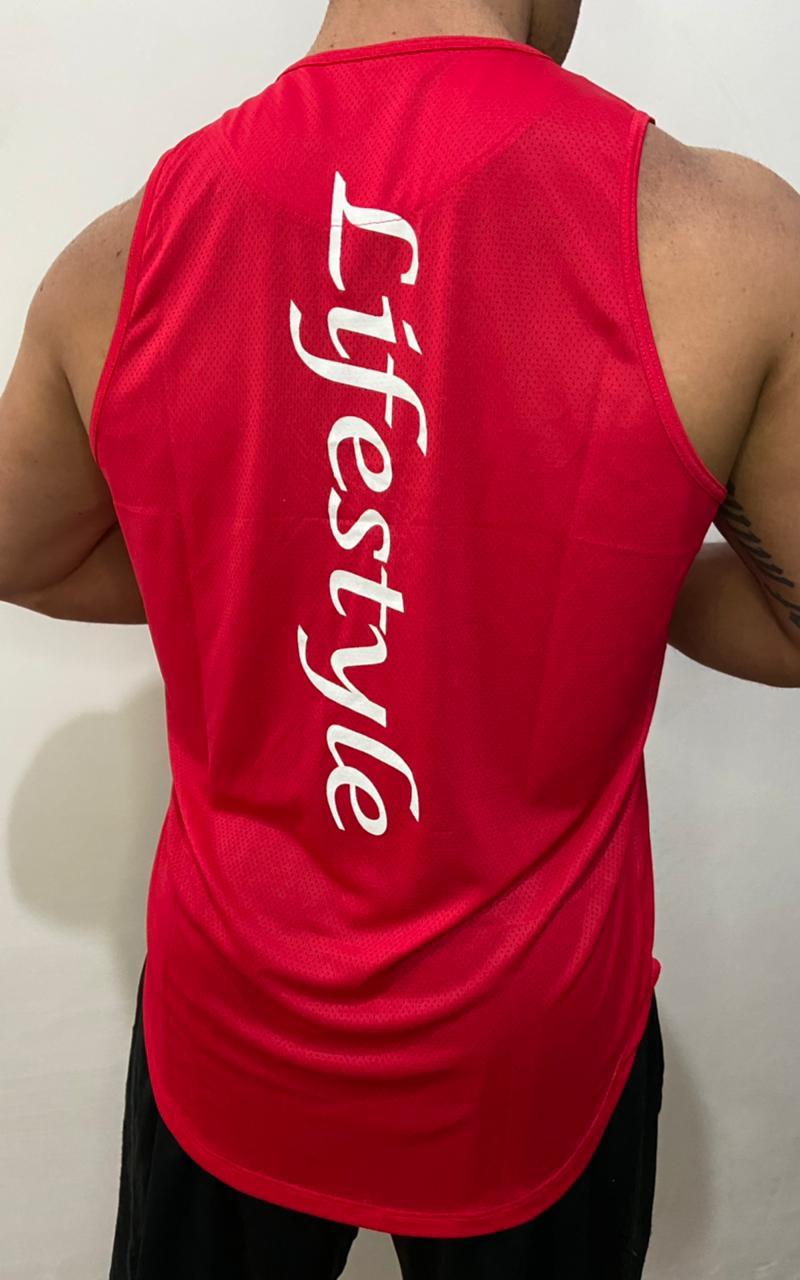 Regata Machão Lifestyle Vermelha