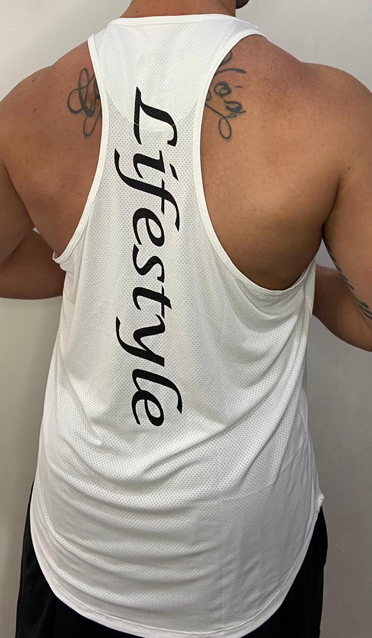 Regata Masculina Lifestyle Branca