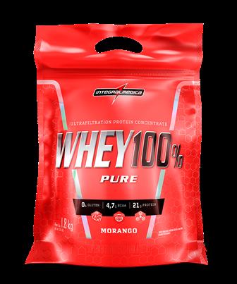 Whey 100% Pure 1,8Kg Refil - Integralmedica