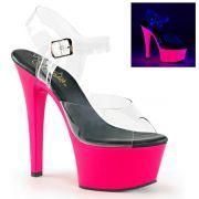 Sandália Aspire 608 UV Pink - Pleaser (encomenda)