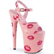 Sandália Flamingo 809 Kisses - Pleaser (encomenda)