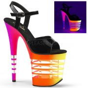 Sandália Flamingo 809 UVLN Rainbow - Pleaser (encomenda)