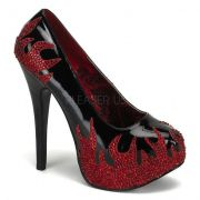 Sapato Teeze 27 Chamas - Bordello (encomenda)