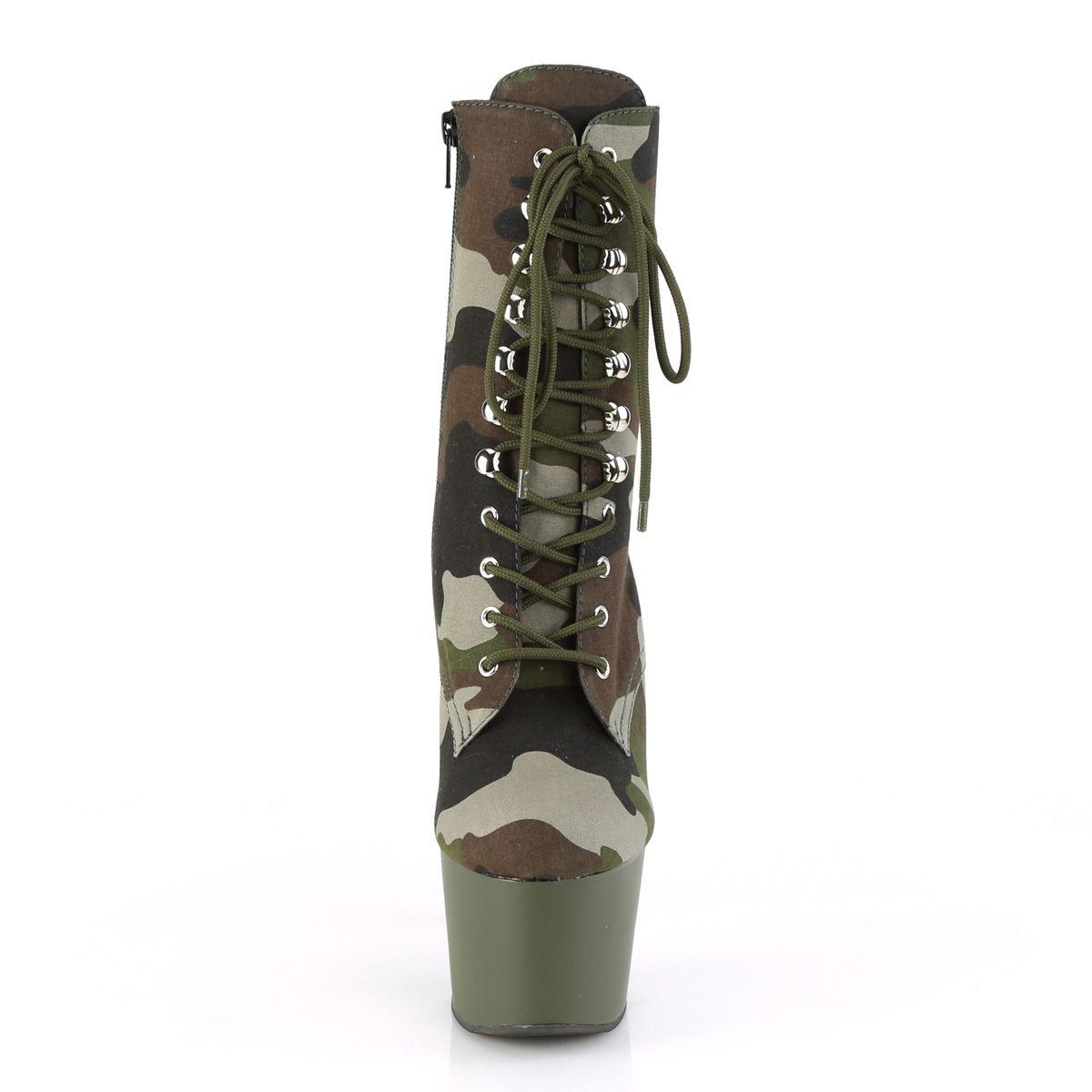 Bota Adore 1020 CAMO Militar  - Pleaser (encomenda)