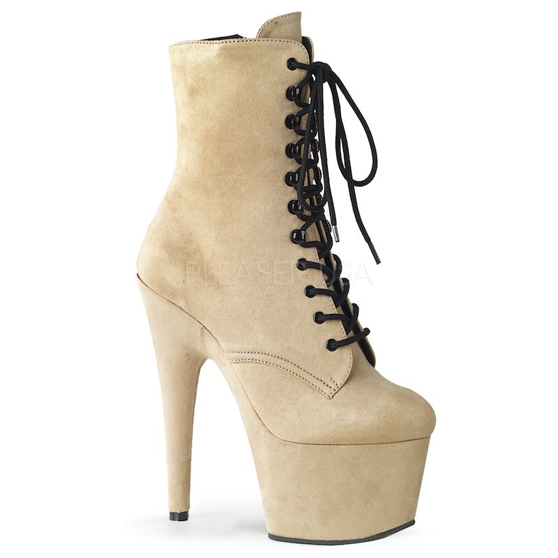 Bota Adore 1020 FS Veludo Ankle Boot  - Pleaser (encomenda)
