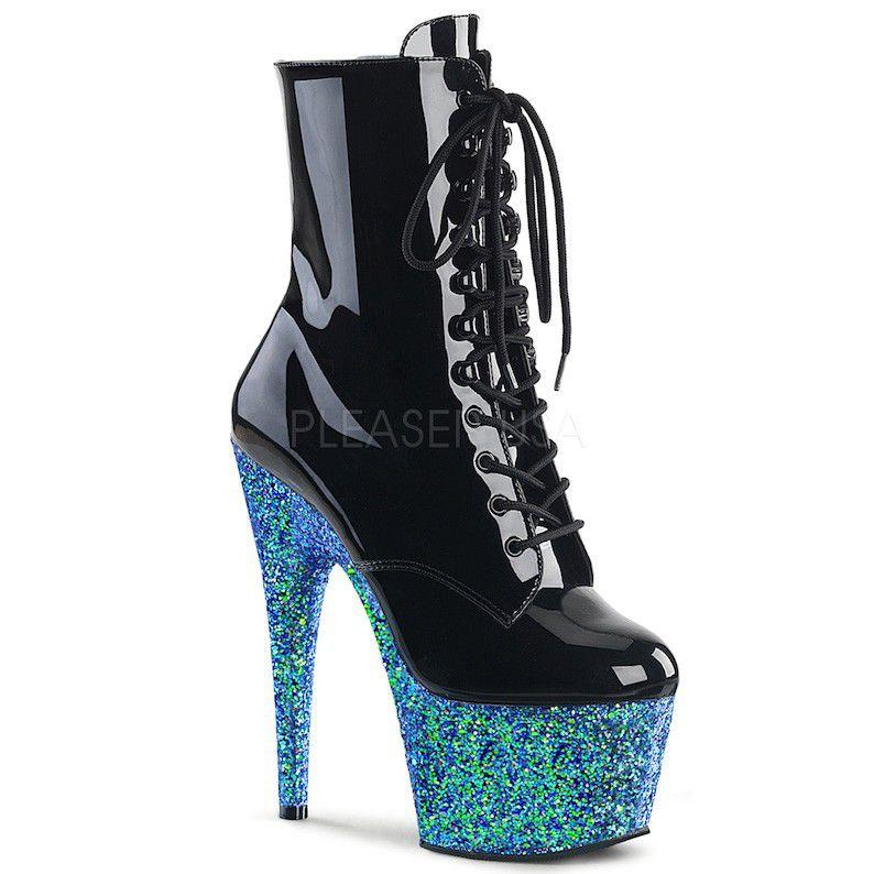 Bota Adore 1020 LG Glitter Ankle Boot  - Pleaser (encomenda)