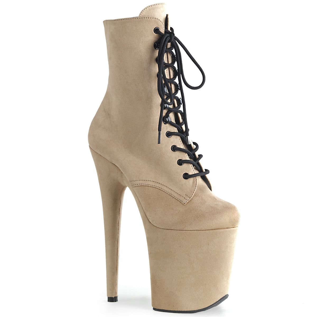Bota Flamingo 1020 FS Veludo Ankle Boot  - Pleaser (encomenda)