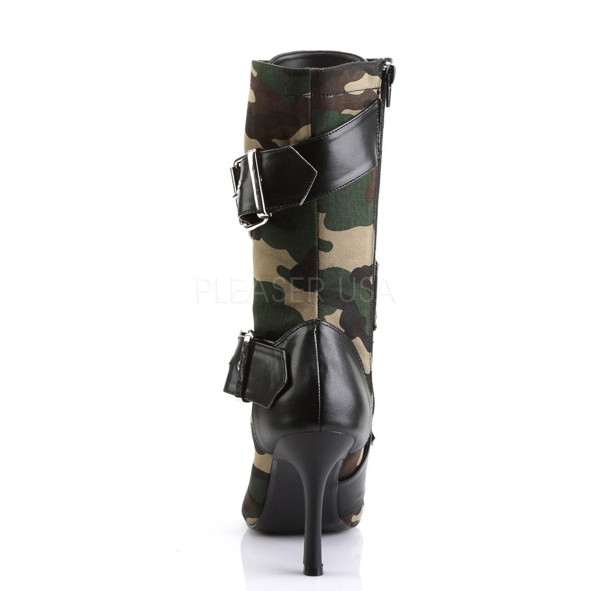 Bota Militant 128 Militar Cano Curto - Funtasma (encomenda)