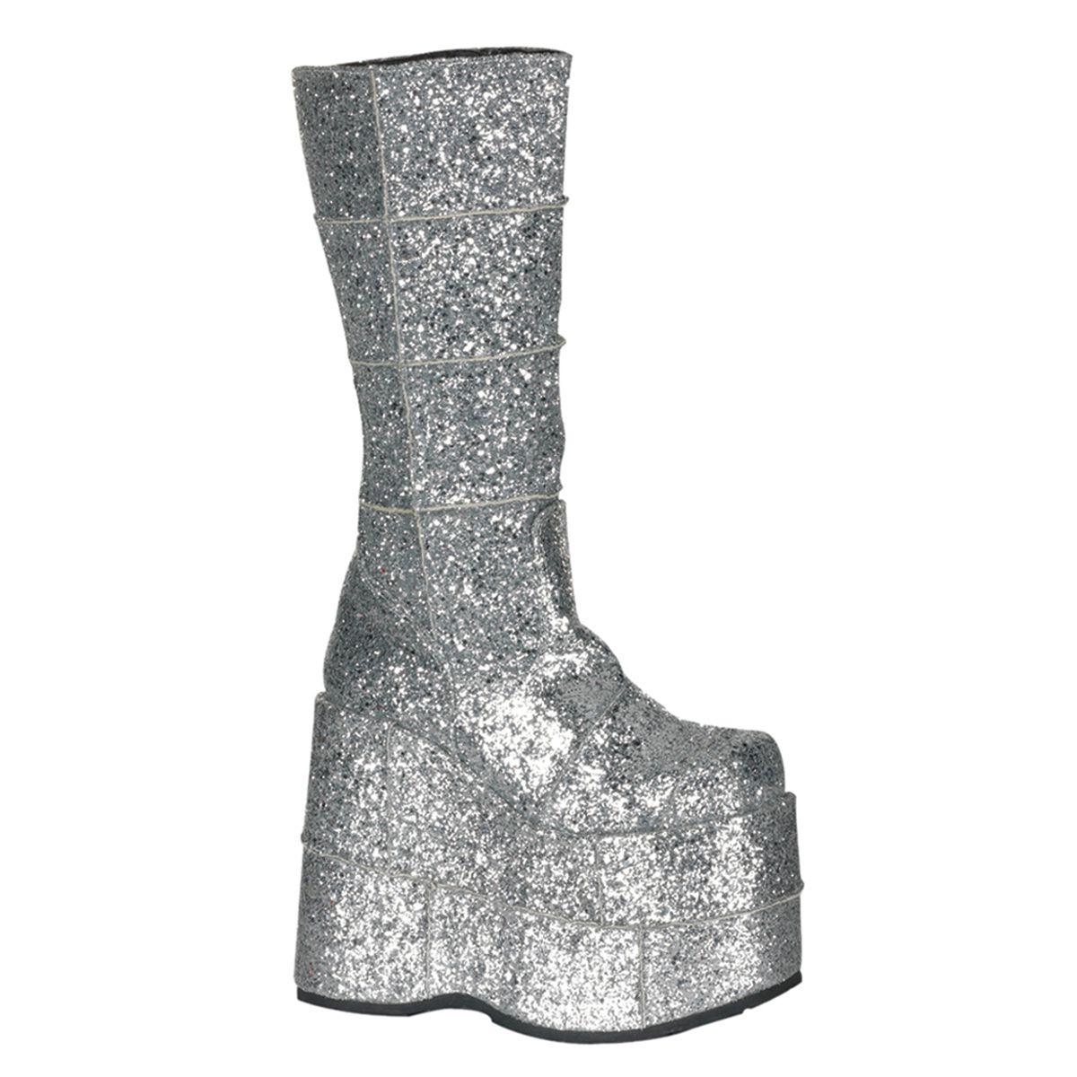 Bota Stack 301G Glitter - Demonia (encomenda)
