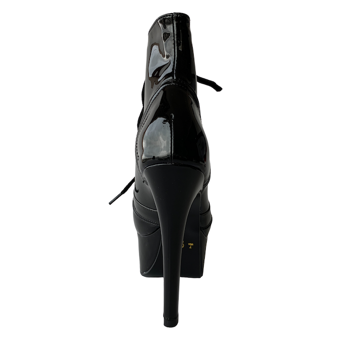 Bota Vitória Preto NR XX - Play Heels (pronta entrega)