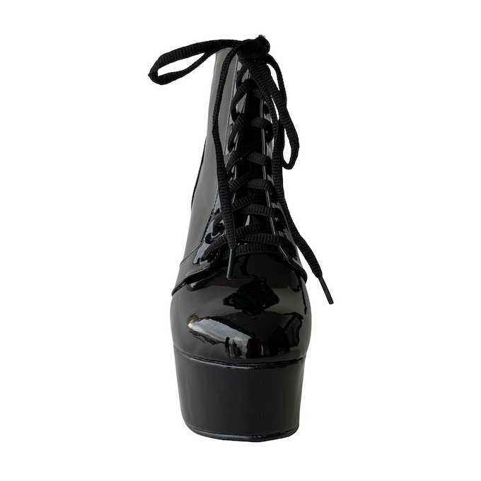 Bota Vitória Preto - Play Heels (encomenda)