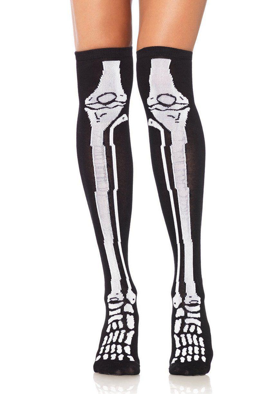 Meia 7/8 Esqueleto - Leg Avenue (pronta entrega)