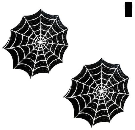 Pasties Adesivo Spider - Nipztix (pronta entrega)