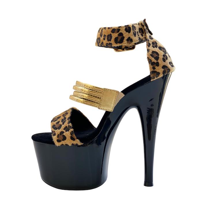 Sandália Aspen Onça NR 8US - Play Heels (pronta entrega)
