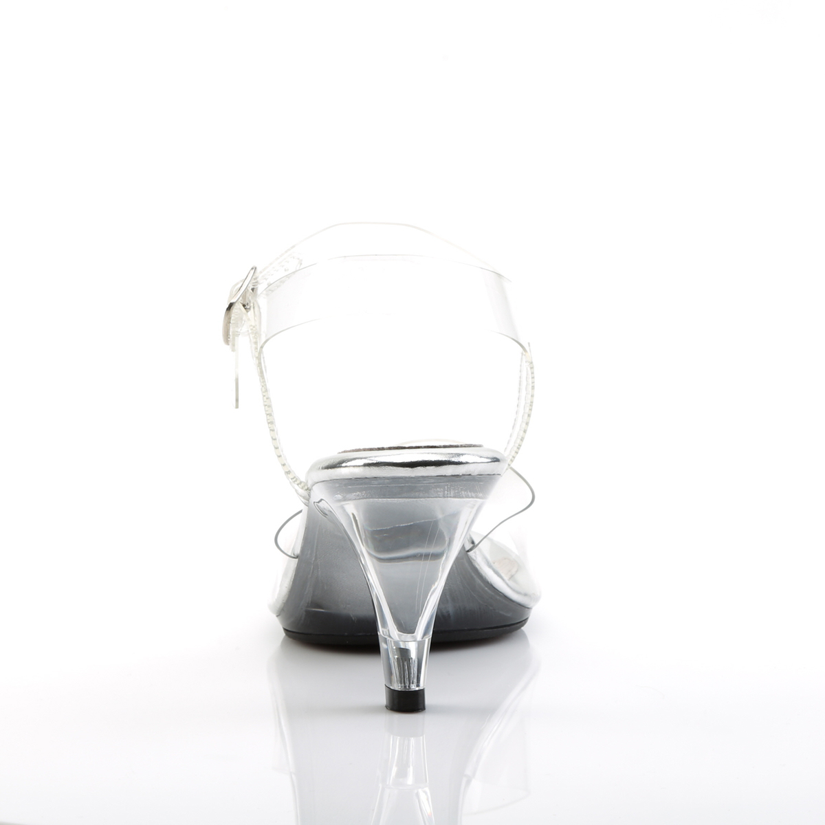 Sandália Belle 308 Clear - Fabulicious (encomenda)
