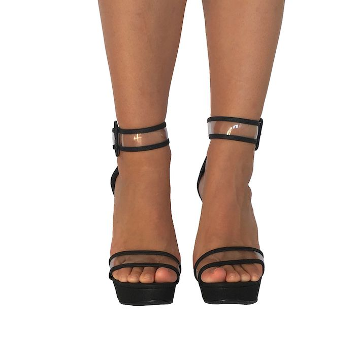 Sandália Denise Clear NR XX - Play Heels