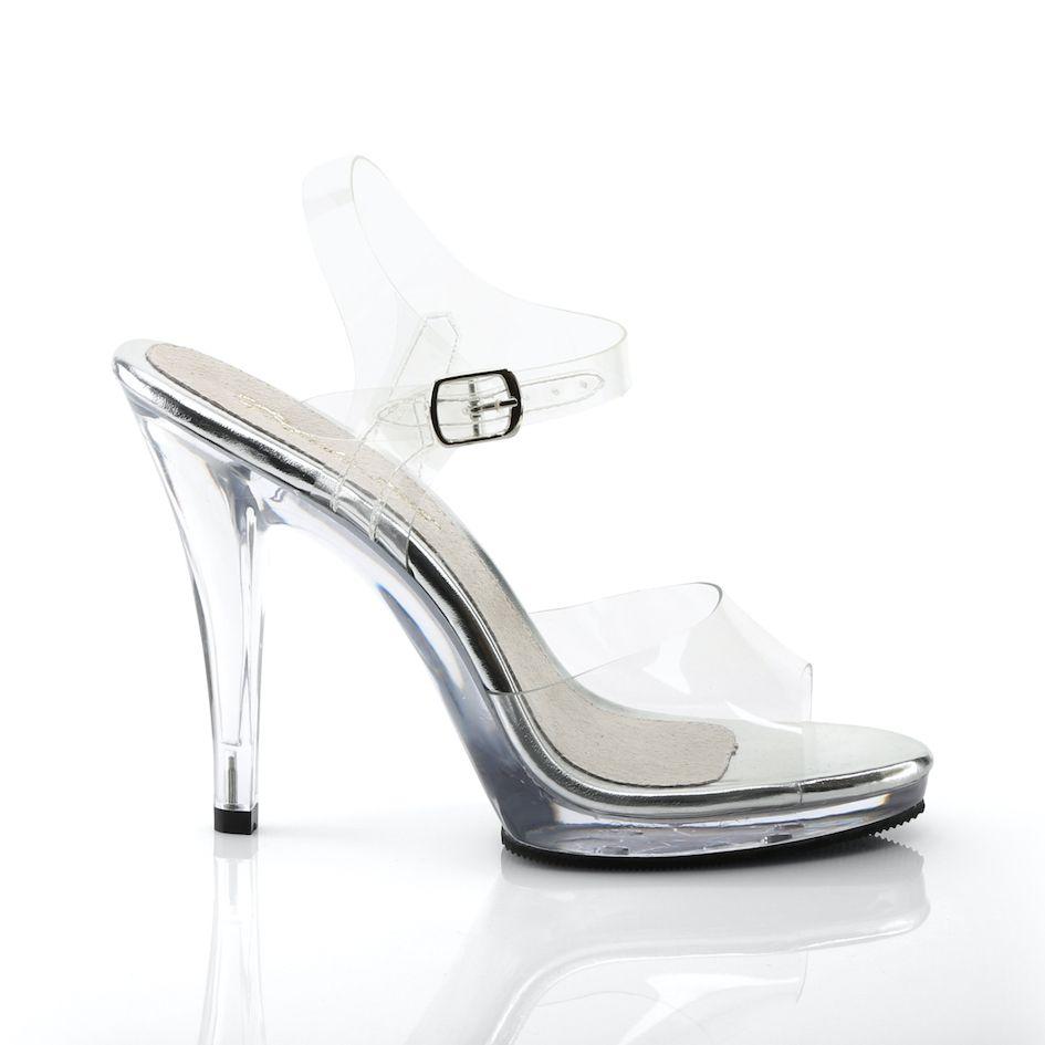 Sandália Flair 408 Clear - Fabulicious (encomenda)