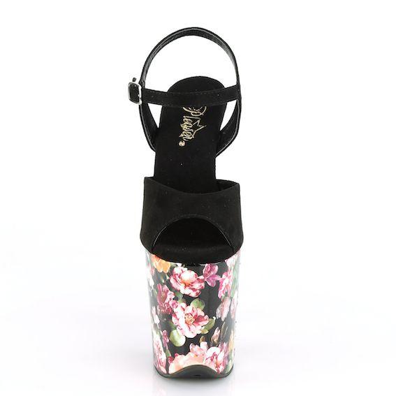 Sandália Flamingo 809 WR Flor - Pleaser (encomenda)