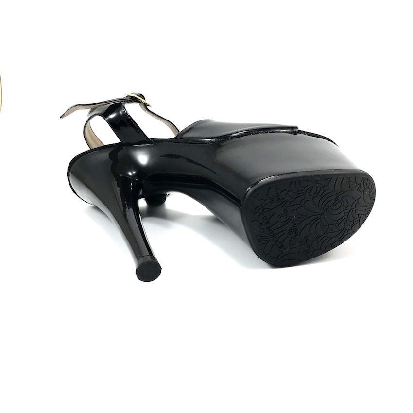 Sandália Jery Preto NR 10US - Play Heels (pronta entrega)