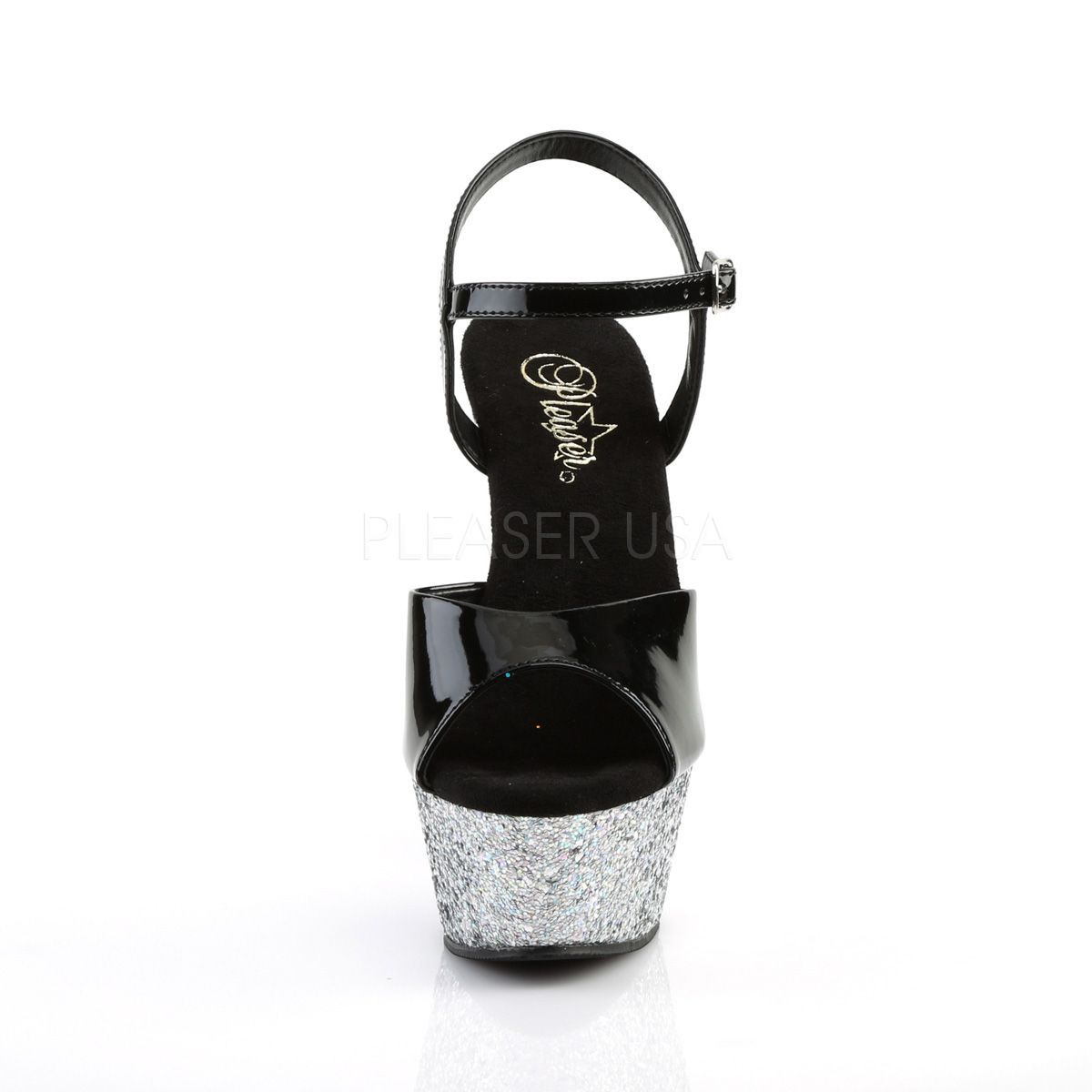 Sandália Kiss 209 LG Glitter - Pleaser (encomenda)