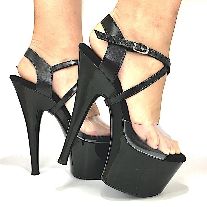 Sandália Moscow Exotic NR 7US - Play Heels (pronta entrega)