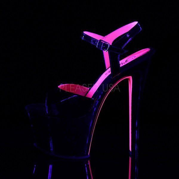 Sandália Sky 309 TT Pink - Pleaser (encomenda)